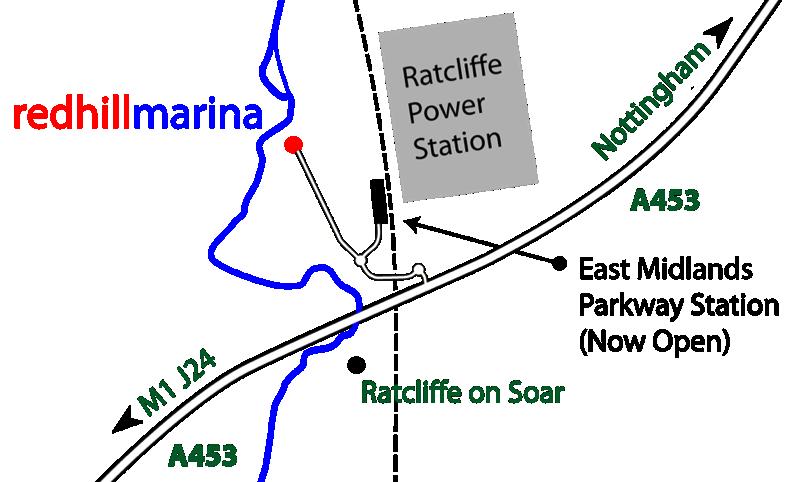 Redhill Marina Map